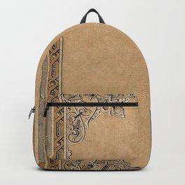 Old Knotwork Paper Backpack