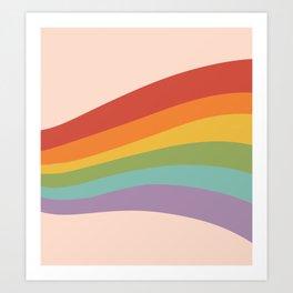 Rainbow Stripes 4 Kunstdrucke