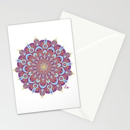 Mandala | Purple #2 Stationery Cards