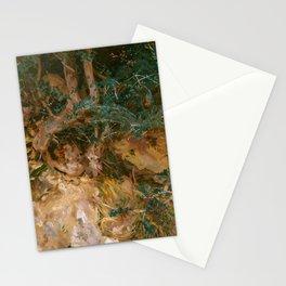 "John Singer Sargent ""Valdemosa, Majorca - Thistles and Herbage on a Hillside"" Stationery Cards"