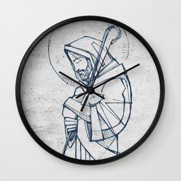 Jesus Christ Good Shepherd Wall Clock
