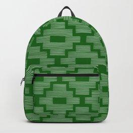 Dark Emerald Birdseye Backpack