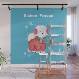 Bichon Freeze Wall Mural