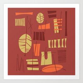 Hibok-Hibok Art Print