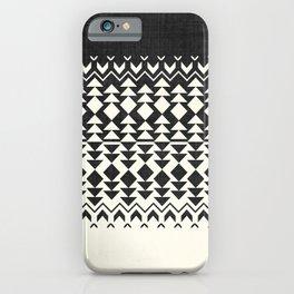 Sollia in Black and White iPhone Case