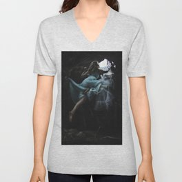 Escape From Wonderland Unisex V-Neck