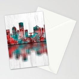 Milwaukee Wisconsin skyline Stationery Cards