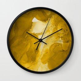 Flow ink art Wall Clock