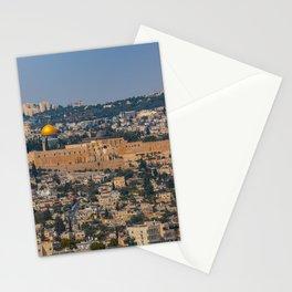 Jerusalem of Gold Stationery Cards