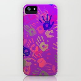 handZ iPhone Case