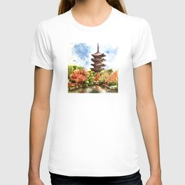 Kyoto Japanese Garden and Temple T-shirt