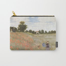 Poppies, Claude Monet, 1873 Carry-All Pouch