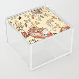 London Underground Vintage Acrylic Box