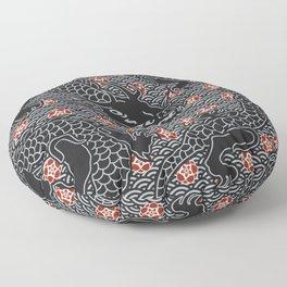 Hidden Dragon / Oriental dragon design Floor Pillow