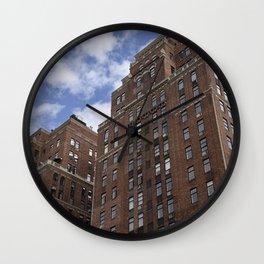 London Terrace Towers Wall Clock