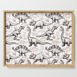 Roar of the Dino Serving Tray