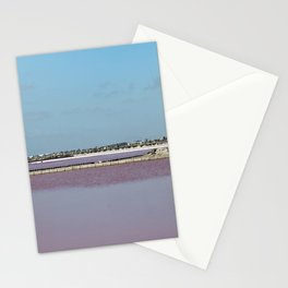 Rosy Red Salt Lakes Stationery Cards