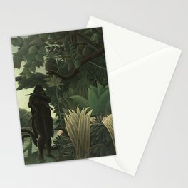 Henri Rousseau The Snake Charmer Stationery Cards