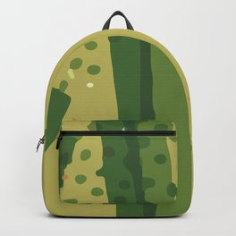 Abstract Modern Contemporary Monochromatic Background in Olive  Green Color GC-118-9 Backpack