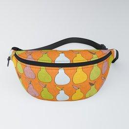 Pop Mod Pear Orange Fanny Pack