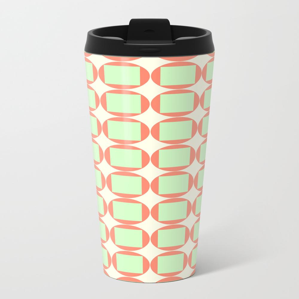 Square Pegs Metal Travel Mug by Gilmourmolly MTM7738533