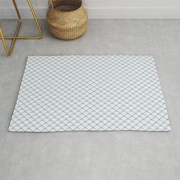 Fish Scale Pattern Rug