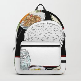 Japanese Tonkatsu Bento Backpack