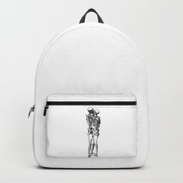 Kissing Skeleton Backpack