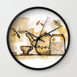 Afternoon Tea Wall Clock