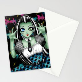 Ghouls Rule Stationery Cards