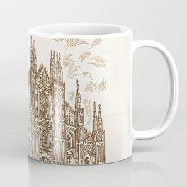 milan cathedral hand draw Coffee Mug