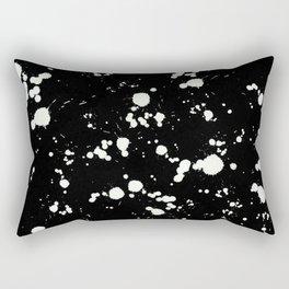 Mono Abstract Rectangular Pillow