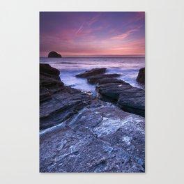 The Sun and the Sea Canvas Print