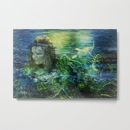 As to the Sea Metal Print