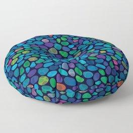 Pebbles in Underwater Floor Pillow