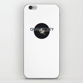 Quality Key: Vinyl Time iPhone Skin