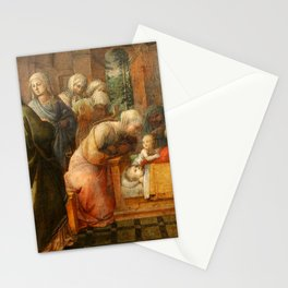 "Fra Filippo Lippi ""Miracle of the Bees of the Infant St. Ambrose"" Stationery Cards"