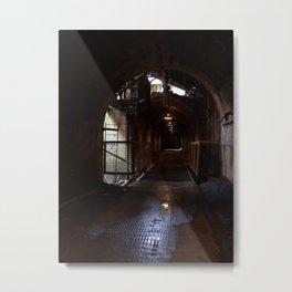 Sloss Tunnel Metal Print