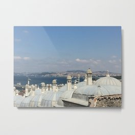Istanbul, Turkey Metal Print
