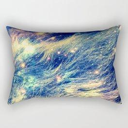 Galaxy Lion : Deep Pastels Rectangular Pillow
