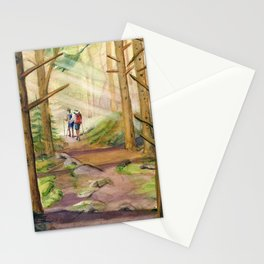 Walk Into The Light Stationery Cards