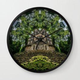 Kaleidoscape: Yaxchilan Wall Clock
