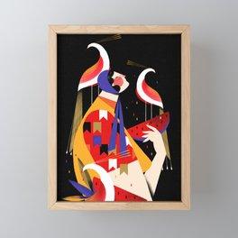 UMA GRANDE FESTA Framed Mini Art Print