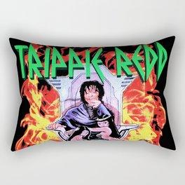 how trippie make music redd fire Rectangular Pillow