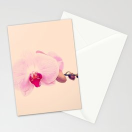 GENTLE ORCHID  II Stationery Cards