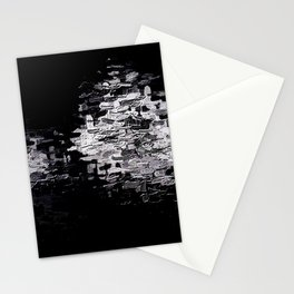 Pixels on Screen, Cobalt in E Minor Stationery Cards