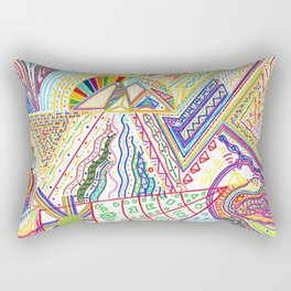 PowerLines 32 Rectangular Pillow