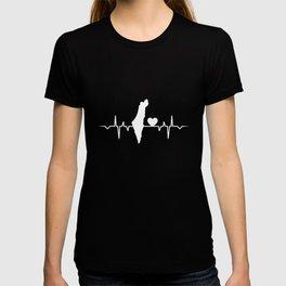 I Love Israel Country Heartbeat T-Shirt T-shirt