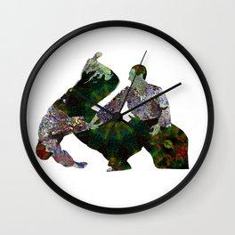 Aikido Rising Energy Wall Clock