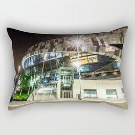 Tottenham Stadium by Night Rectangular Pillow